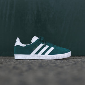 adidas Originals Junior Gazelle - Green / White / Green