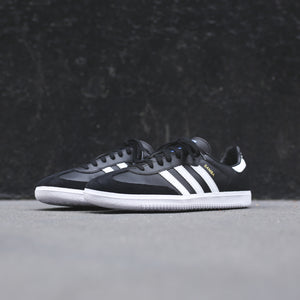 adidas Originals Junior Samba OG - Black / White Image 2