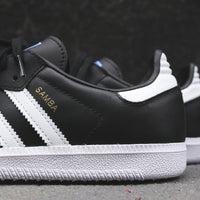 adidas Originals Junior Samba OG - Black / White Thumbnail 1