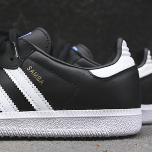adidas Originals Junior Samba OG - Black / White Image 4