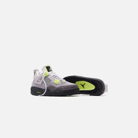 Nike Grade School Air Jordan 4 Retro LE - Cool Grey / Volt / Wolf Grey / Anthracite Thumbnail 1