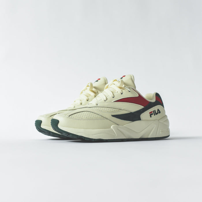 Fila V94M - Cream / Forest / Red