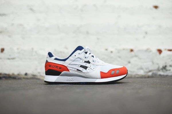 Asics Gel-Lyte III - White / Orange