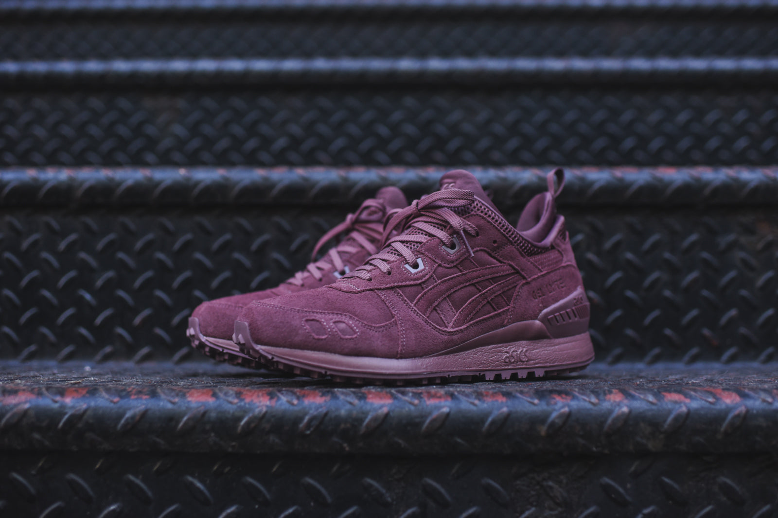 asics gel lyte rose taupe