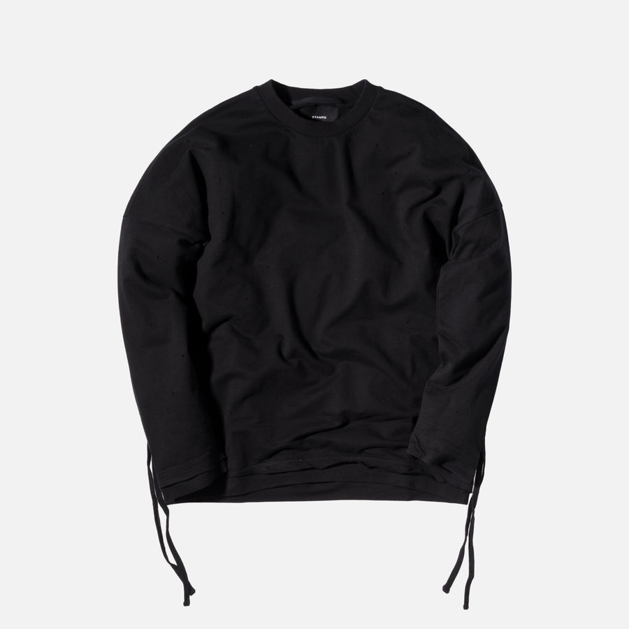 Stampd Glass Chains Crewneck - Black