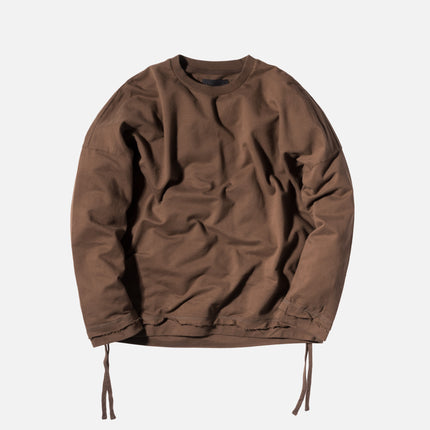 Stampd Glass Chains Crewneck - Tobacco