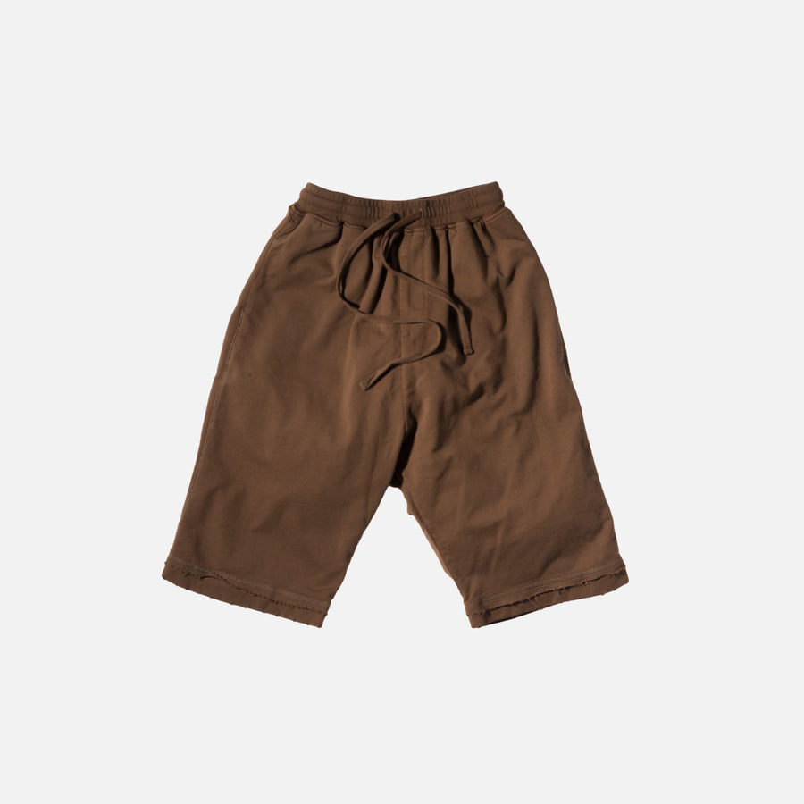 Stampd Glass Chains Sweat Short - Tobacco