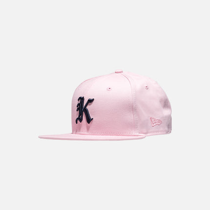 Kith x New Era Gothic 59Fifty Cap - Pink / Navy