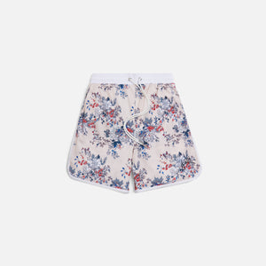 Kith Floral Panel Active Short - Ivory / Multi Image 1
