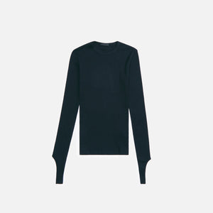Helmut Lang Open Back L/S - Black
