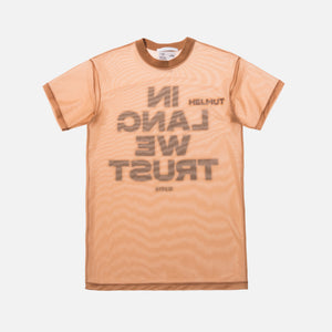Helmut Lang Little Tee With Print - Dune