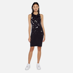 Helmut Lang Masc Tank Dress - Basalt Black