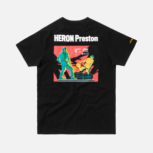 Heron Preston Metal Worker S/S Tee - Black / Multi