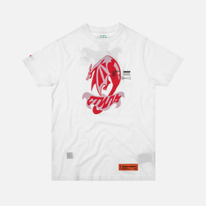 Heron Preston Dragon Tee - White