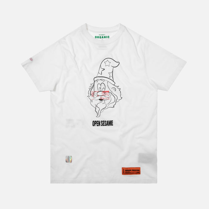 Heron Preston Open Sesame Tee - White