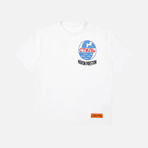 Heron Preston Tee Reg CTNMB INC - White / Black