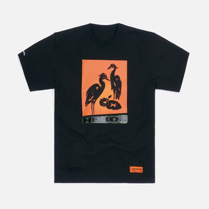 Heron Preston Tee ES OS Herons Nightshift - Black / Orange
