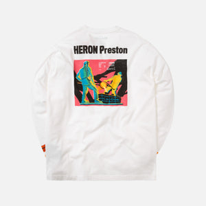 Heron Preston Metal Worker L/S Tee - White