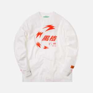 Heron Preston L/S Tee Herons Doves - Chinese White