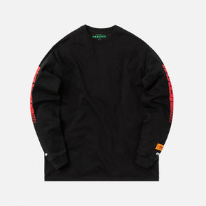 Heron Preston Racing L/S Tee - Black