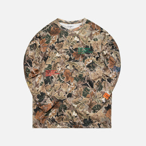 Heron Preston x Carhartt Long Sleeve Tee - Camo