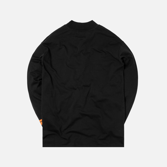 Heron Preston CTNMB Embroidered L/S Turtleneck - Black