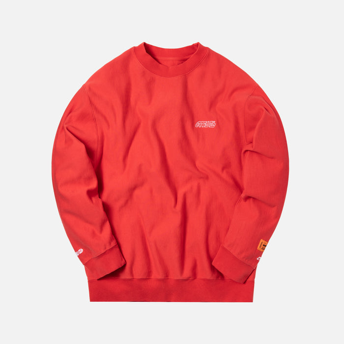 Heron Preston CTNMB Basic Crewneck - Red