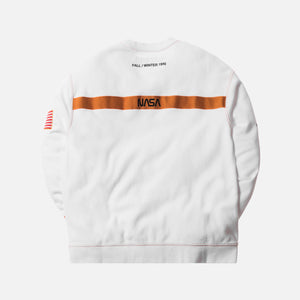 Heron Preston x NASA Crewneck - White / Orange