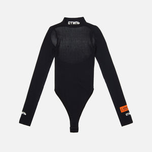 Heron Preston WMNS L/S Turtleneck Bodysuit - Black