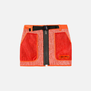 Heron Preston Utility Tweed Skirt - Orange Image 1