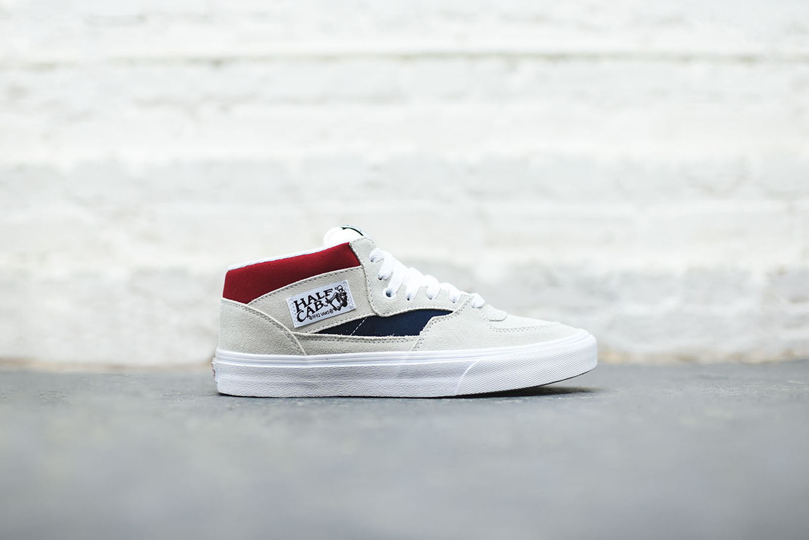 Vans Half Cab (Retro Block) / Red P8zlO