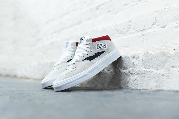 Vans Half Cab Retro Block - White / Red / Blue