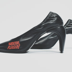 MISBHV WMNS Hardcore Pleasure Slicer Pumps - Black