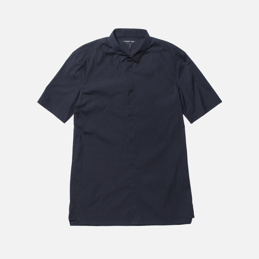 Helmut Lang Double Pocket Button-Up - Dark Indigo