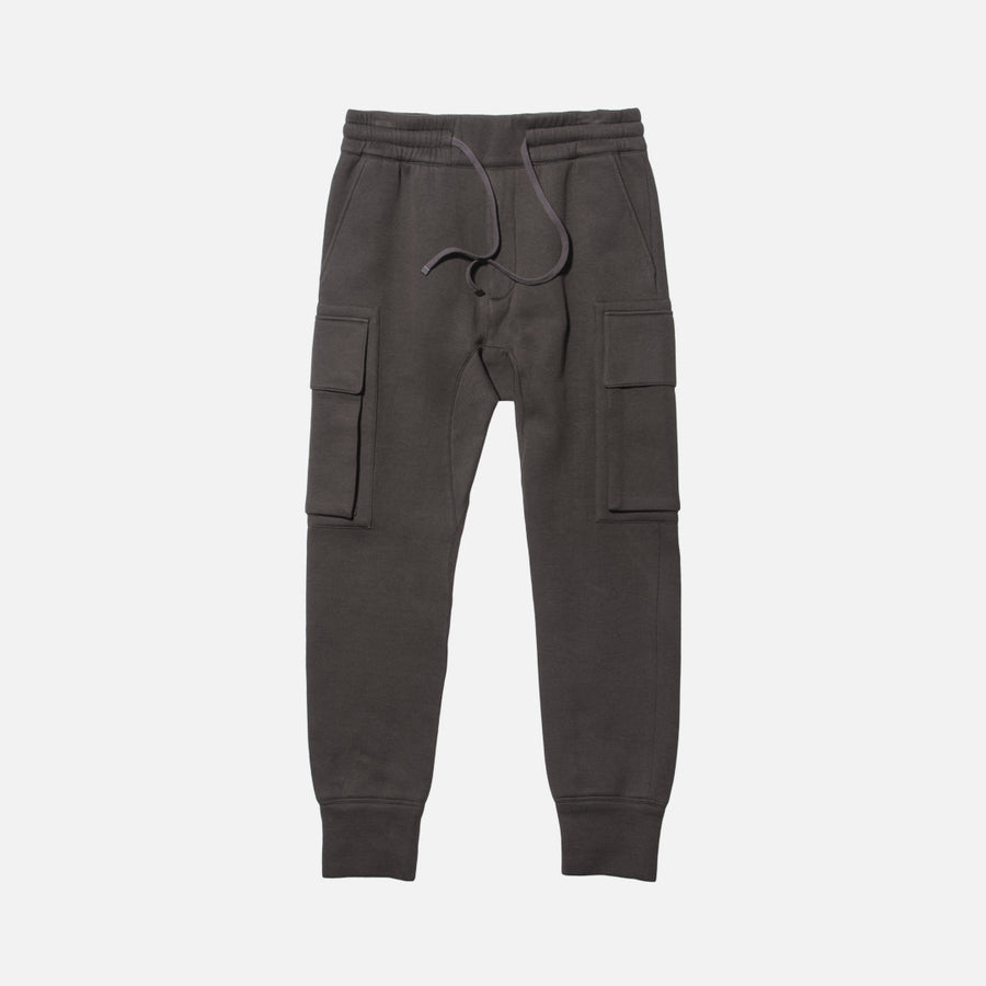 Helmut Lang Cargo Track Pant - Green