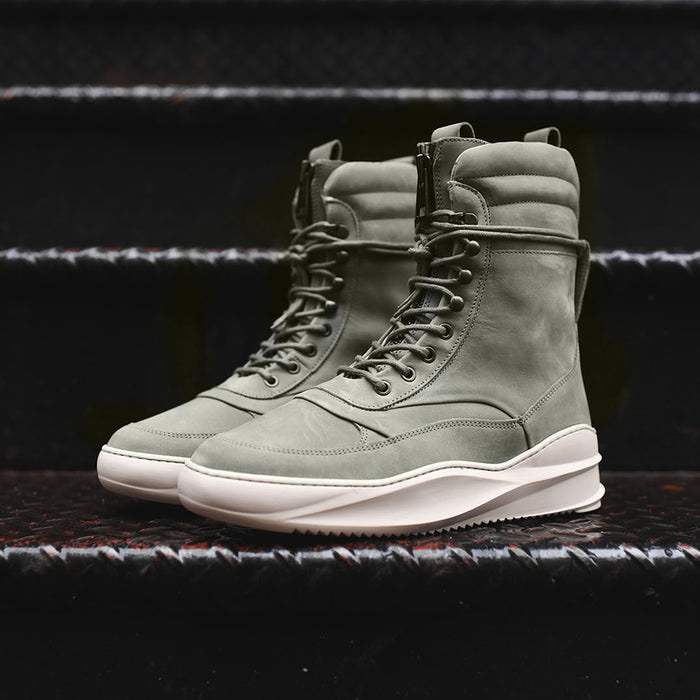 Filling Pieces High Field Boot Sky Tsaatan - Army Green