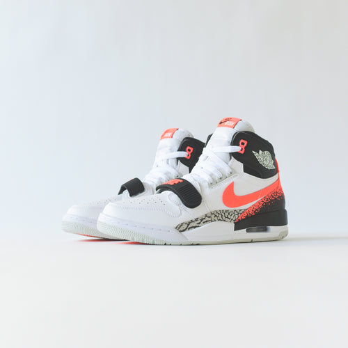 Nike Air Jordan Legacy 312 - White / Hot Lava / Black / Zen Grey