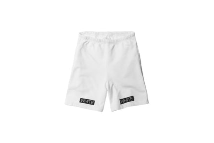Off-White Orange Box Short – White