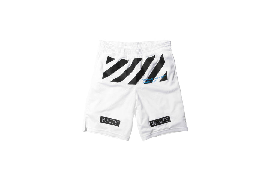Off-White Mesh Short – White