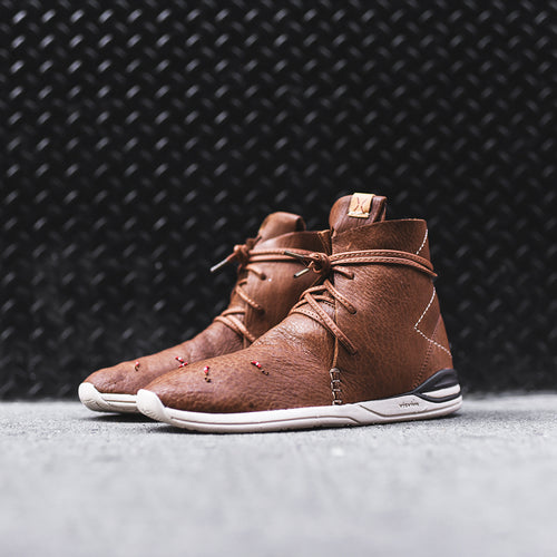 Visvim Huron Moc High-Folk - Brown