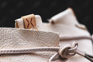 Visvim Huron Moc High-Folk - Off White