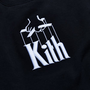 Kith x The Godfather Puppet Crewneck - Black