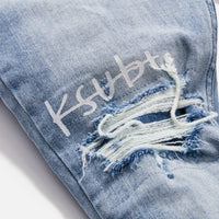 Kith x Ksubi Chitch Stretch - Philly Blue Thumbnail 1