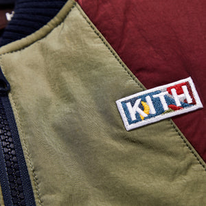 Kith Kids Bailey Bomber Jacket - Navy Multi Image 3