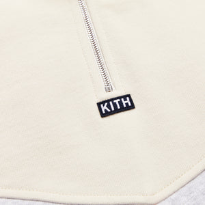 Kith Track Line Quarter-Zip Pullover - Red / Multi Image 3