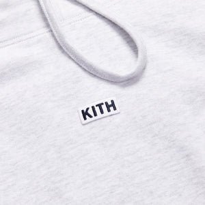 Kith Cotton Jersey Funnel Neck - Heather Grey Image 3