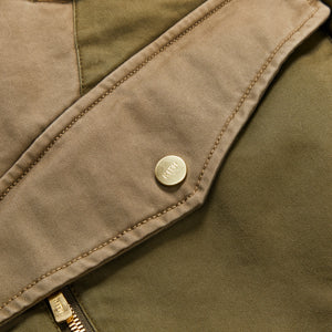 Kith Colorblocked Sateen Bomber - Olive Image 4