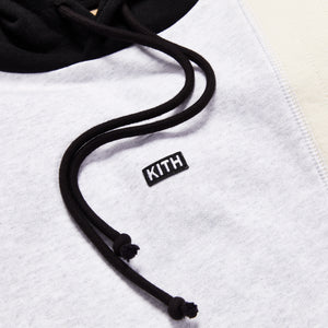 Kith Quilted Colorblock Hoodie - Black / Multi Image 3