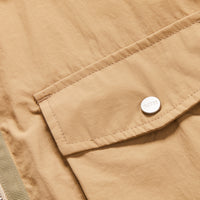 Kith Military Crispy Nylon Work Shirt - Travertine Thumbnail 1
