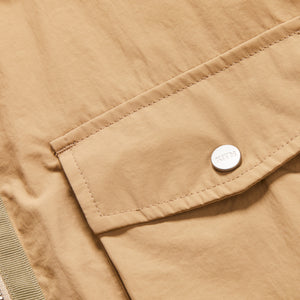 Kith Military Crispy Nylon Work Shirt - Travertine Image 4